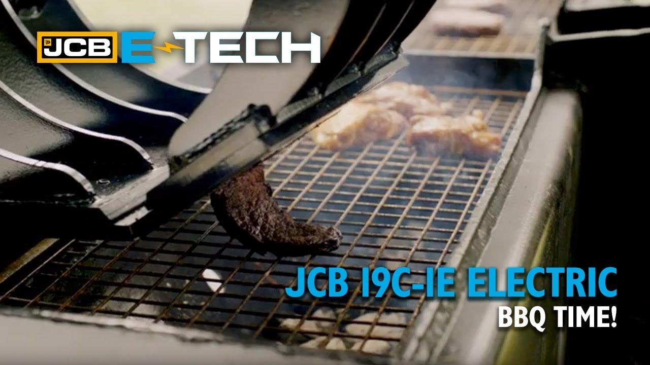 BBQ - JCB style! Operator shows off his skills