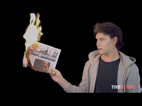 Caolan Robertson: The Guardian Supports Antifa Violence