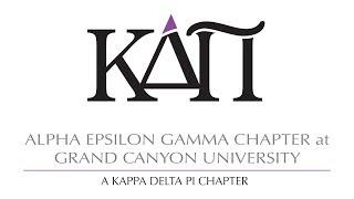 Alpha Epsilon Gamma Kappa Delta Pi Honor Spring Induction