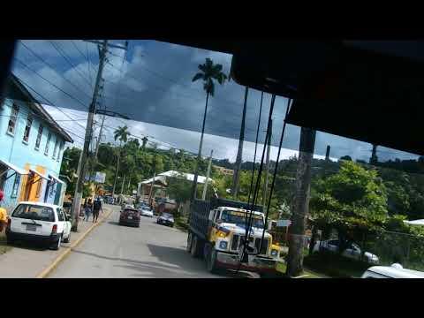 Entering Port Antonio at the Northeast Coast of Jamaica