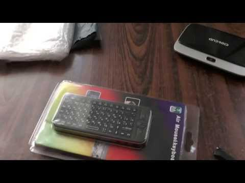 Из Китая посылка № 57. Клавиатура для смарт-ТВ, беспроводная с гироскопом.