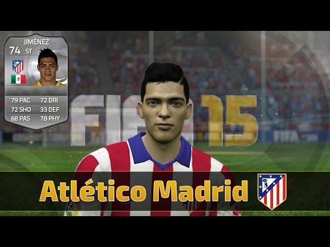 FIFA 15 | Faces | Atletico Madrid