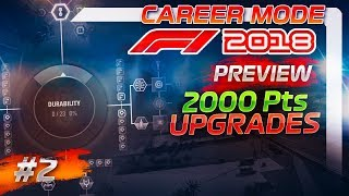F1 2018 Career Mode Preview Part 2: SPENDING 2,000 RESOURCE POINTS