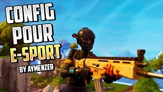 CONFIGURER FORTNITE POUR L'E-SPORT (4:3) ! FORTNITE BATTLE ROYALE