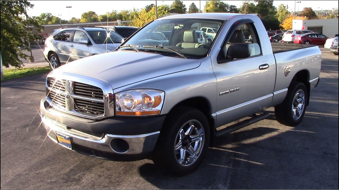 2006 dodge ram 1500 w t 6 speed full tour start up