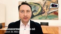 OÖ LANDESHAUPTMANN STV. DR. MANFRED HAIMBUCHNER ÜBER DIE WOHNKOSTENHILFE SEITENS DES LANDES
