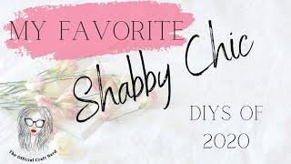 Shabby Chic DIYS Mega Video | #bingeworthy #shabbychic #vintage