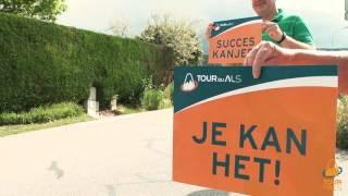 3JS wandelt Mont Ventoux op voor strijd tegen ziekte ALS