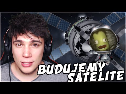 BUDUJEMY SATELITĘ! - Kerbal Space Program #4 [kariera]