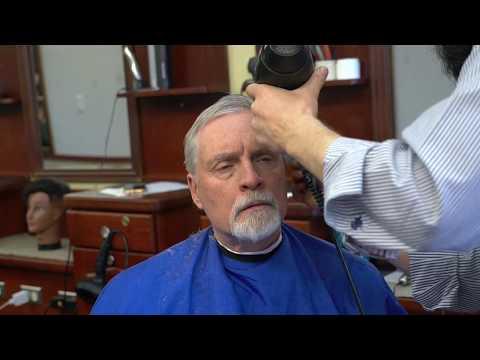 Tutorial: Old Style Scissors Over Comb Gentleman Haircut