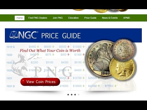 Price Guides | Professional Numismatists Guild