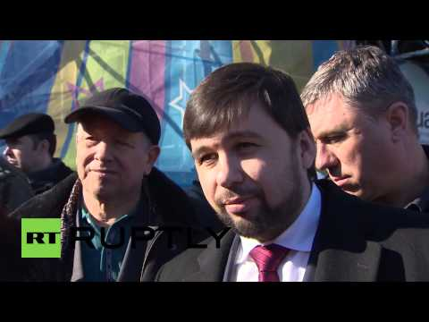 Ukraine: 'DPR have started removing heavy weapons' - Pushilin