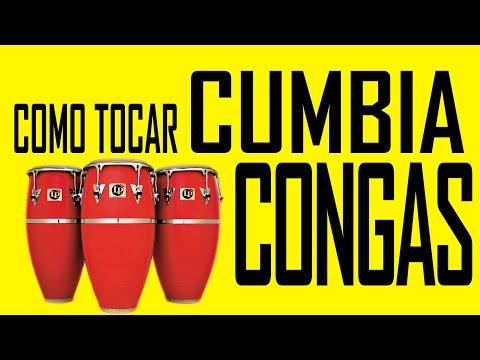 COMO TOCAR CUMBIA - CONGAS WITH ENGLISH SUBTITLES
