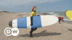 Cold Hawaii: Surferparadies Klitmøller in Dänemark   DW Deutsch
