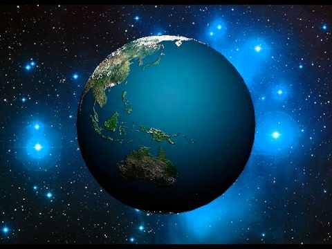 Анимация вращения Земли