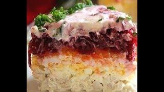 "Салат ""Мой генерал"" салат на 23 ферваля"
