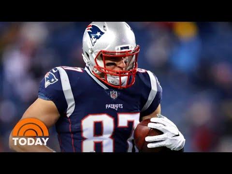 Tamo - Patriots' Rob Gronkowski Announces He Is Retiring