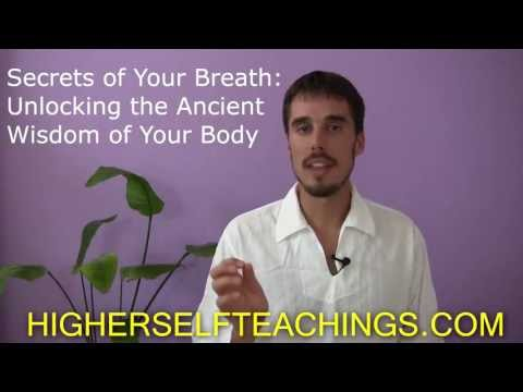 August 31, 2013 in Amsterdam: Secrets of Your Breath - Unlocking the Ancient Wisdom of Your Body