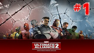 Marvel Ultimate Alliance 2 Walkthrough Part 1 Opening