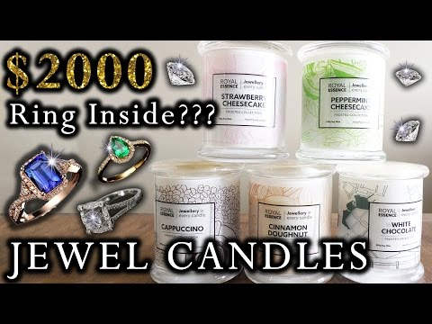 $2000 RING INSIDE CANDLE???? Royal Essence Candle Review and Reveal