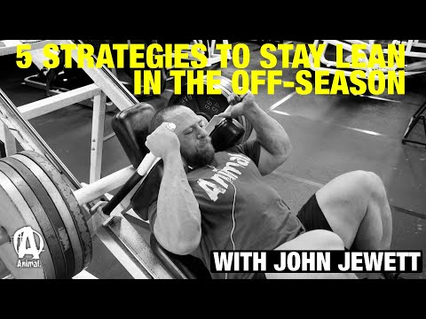 5 Strategies To Stay Lean In The Offseason with John Jewett