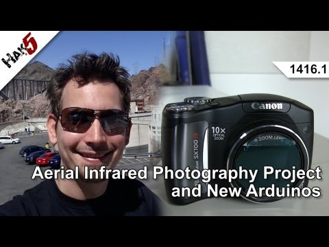 Inexpensive Infrared Photography with Mathew Lippincott, Hak5 1416.1