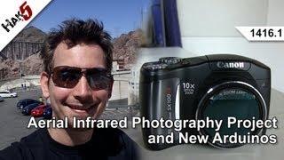 Inexpensive Infrared Photography with Mathew Lippincott, Hak5 1416.1