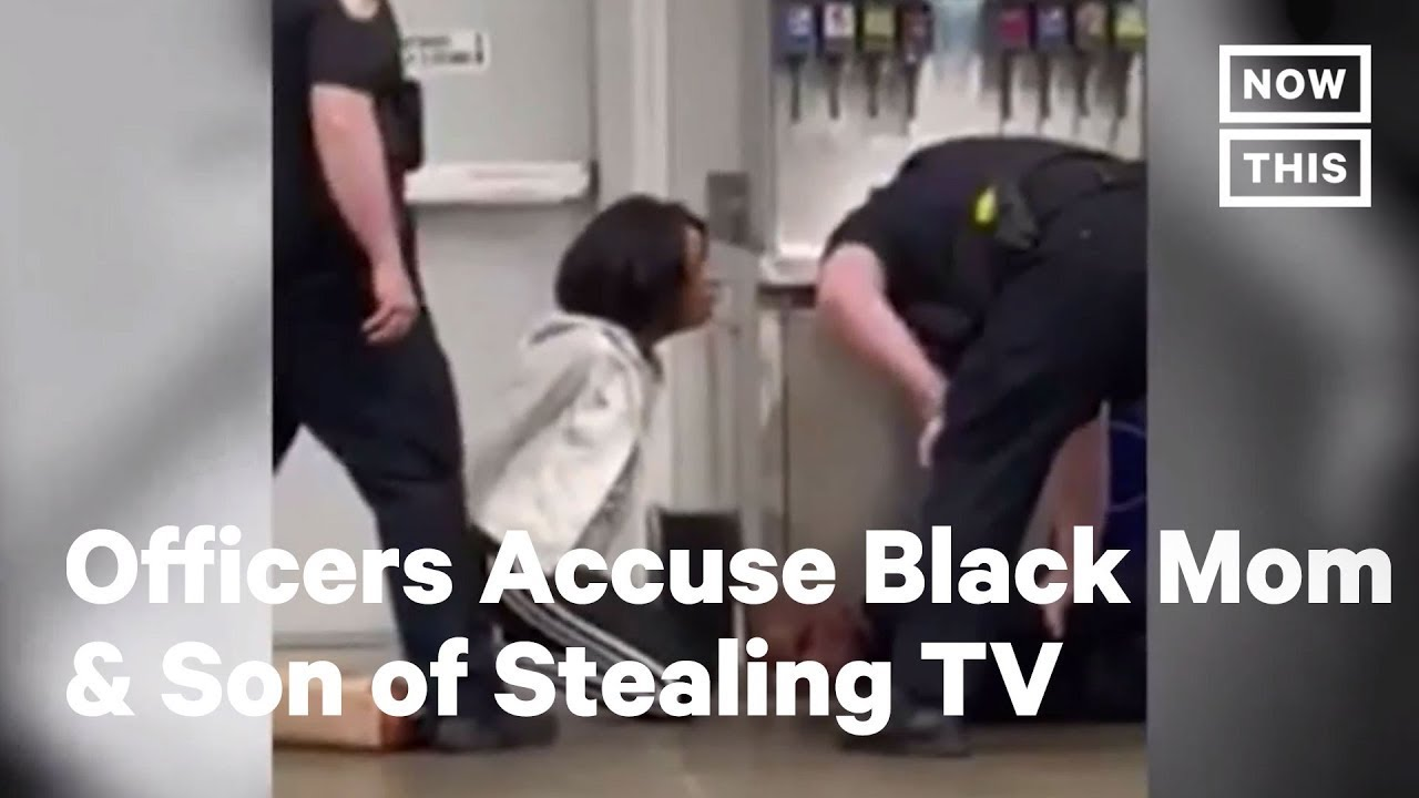 Police Tackle Black Mom & Son After Accusing Them of Stealing | NowThis
