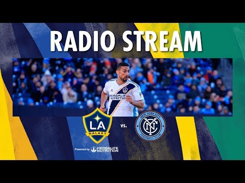 LA Galaxy vs New York City FC | Radio Live Stream