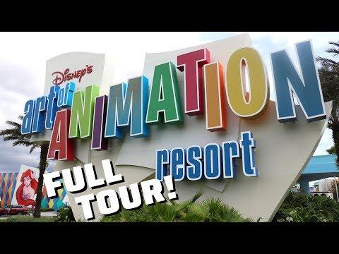 Disney's Art Of Animation Resort - FULL TOUR