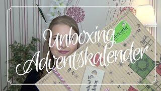 Unboxing | Alverde Adventskalender | 🤶🏼Achtung Spoiler 🎅🏼 | sabrina_beauty_and_more