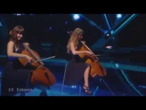 Urban Symphony - Rändajad (Eurovision 2009 - Estonia) Broadcasting By ERT