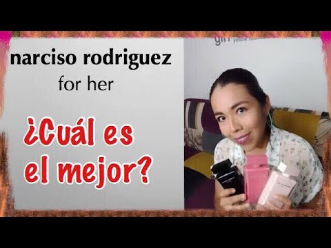 Narciso Rodríguez For Her en sus 3 Versiones