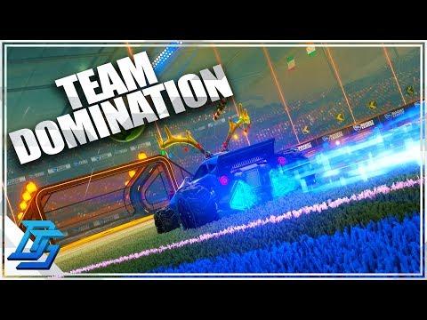 Team Hotdog Dominated Team Poutine - Rocket League Multiplayer