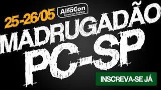 aula gratuita madrugadão pc sp ao vivo alfacon concursos