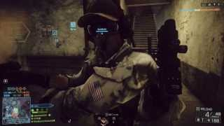 Road to M1911 (Part 6) Battlefield 4 [PC] PISTOLS ONLY Conquest on Operation Locker