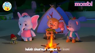 Lagu anak Kerlip Bintang-Animasi Kuji and Friends-Dendang Kencana
