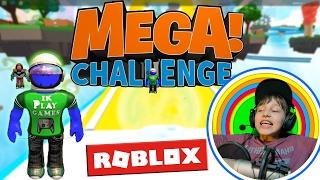 Roblox Mega Challenge, ik heb het gehaald