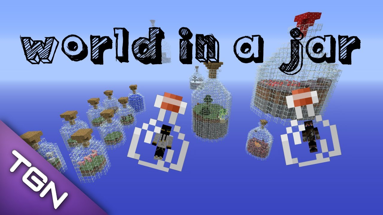 Minecraft World in a Jar Survival Map in Coop 01 YouTube – Map World Jar