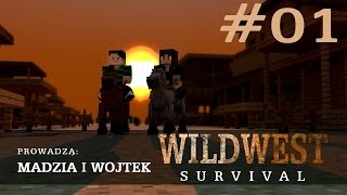 Wild West Minecraft Survival #01 /w Wojtek