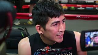 """LEO SANTA CRUZ WANTS TO UNIFY WITH GARY RUSSELL """"I"""