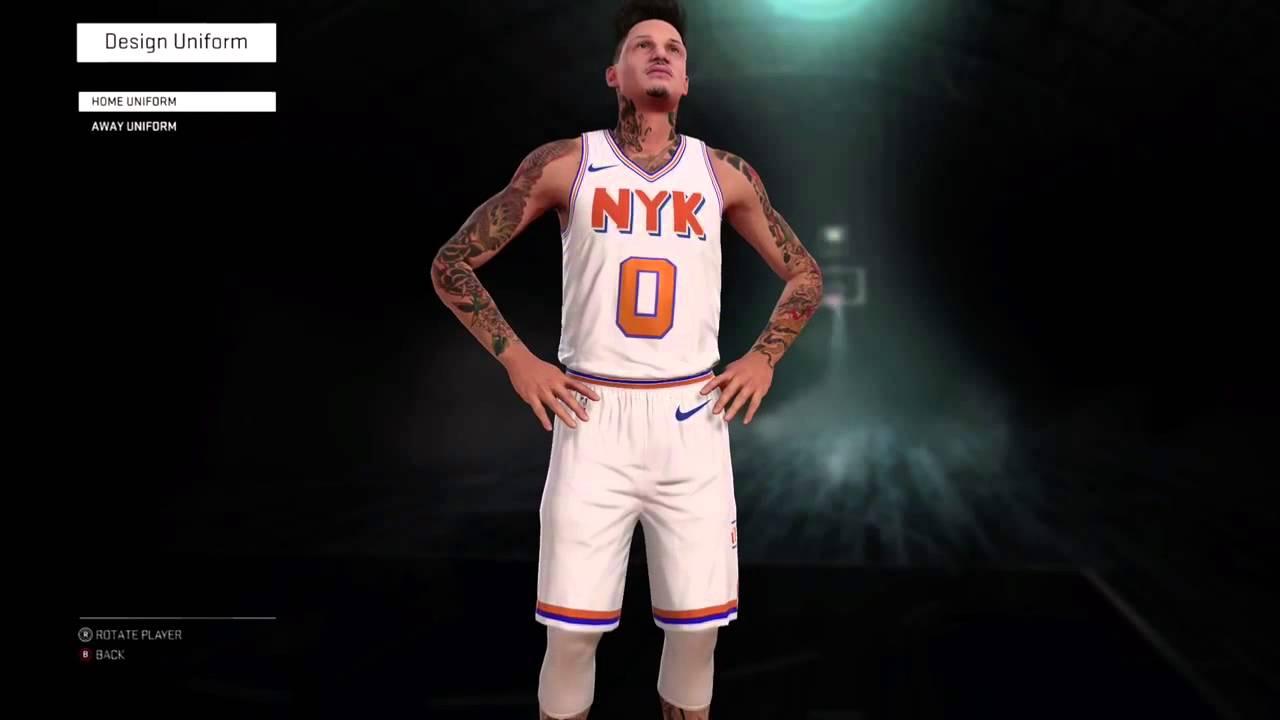 the best attitude dc1a4 85bd2 NY Knicks Rebrand NBA2k16