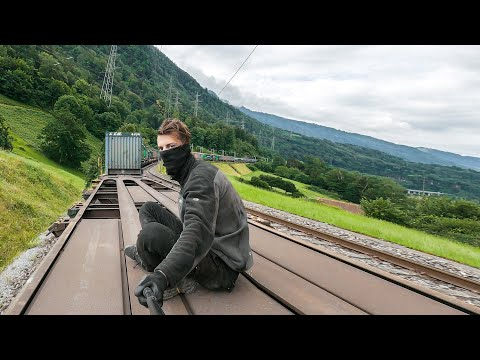 ILLEGAL FREEDOM: Train Surfing Journey Across Europe