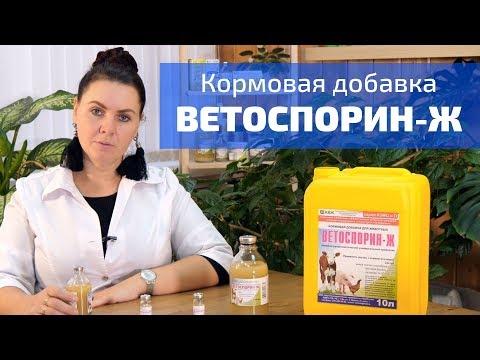 Применение пробиотика Ветоспорин для пчел