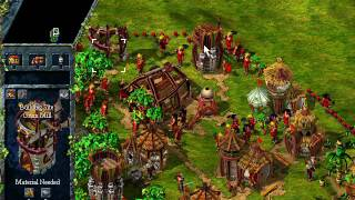 The Settlers III Campaign gameplay
