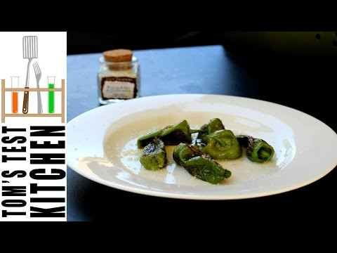 How to prepare Padrón Peppers