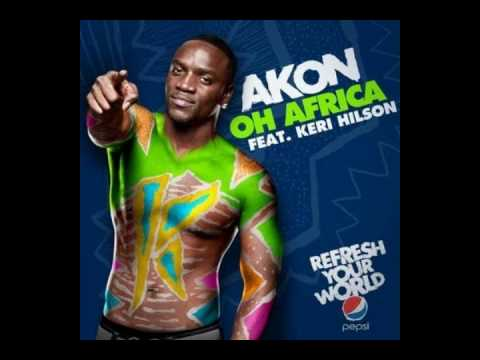 """Akon & Keri Hilson - Oh Africa""""Official New Song+HQ MP3"""""""