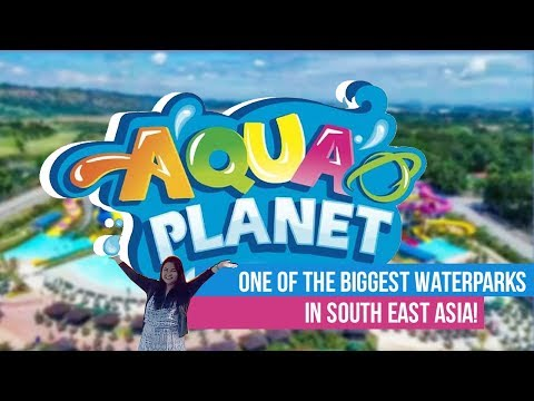 Aqua Planet at Clark Freeport Zone Pampanga - Biggest & Newest Water Park in the Philippines