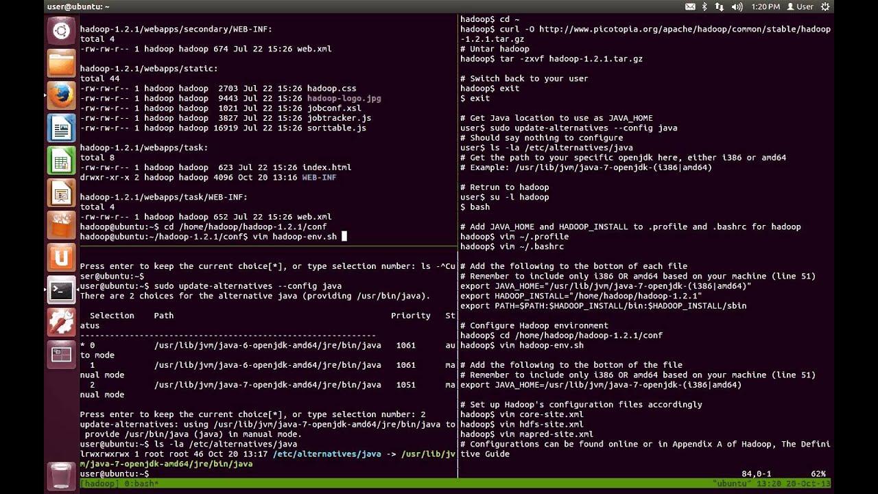 Week 1: Hadoop 1.2.1 Setup on Ubuntu 12.04 - YouTube