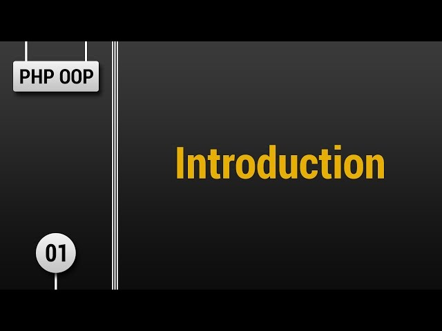 Learn Object Oriented PHP